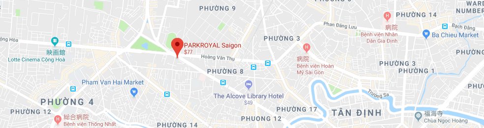 Room BO 3C1, Annex Building, Parkroyal Saigon,309B-311 Nguyen Van Troi Street, Tan Binh District, Ho Chi Minh City, Viet Nam